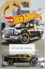 HOT WHEELS 2008 Ford F-150 4WD Pickup Black #1/8 HW TRUCKS SERIES HTF