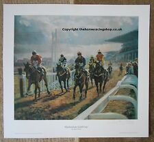 The Shute Cheltenham Gold Cup The Fellow LE  Fine Art Picture  Horse Racing
