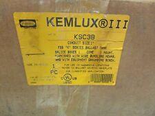 Hubbell Kemluxiii Ksc3b Cone Shape 1splice Box Mount For K Series Ballast Tank