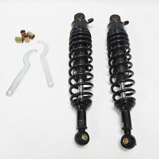 2* 320mm 12.6'' Black Rear Shock Absorbers Motorcycle Suspension Damper