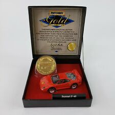 Matchbox Gold Collection Ferrari F-40 - Limited Edition 1 of 5,000 New Opened