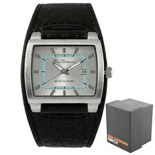 Ben Sherman Gents Black Cuff Strap Date Display Analogue Men's Quartz Watch R927