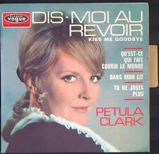 """PETULA CLARK EP 45T Biem / Vogue EPL 8618 """"Dis-moi au revoir"""" (Kiss me goodbye)"""