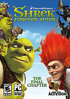 SHREK Forever After The Final Chapter PC DVD-ROM Game NEW Sealed 2010