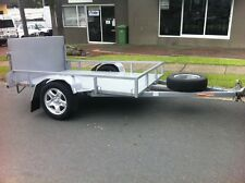 8X5 NEW HEAVY DUTY TILT TRAILER DRIVE AWAY TODAY! GREAT FOR GOLF BUGGY OR MOWER