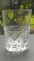 "Royal Brierley ""BRUCE"" Whiskey Glass - 8.8cms (3-1/2"") tall Unsigned"