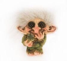 Troll Nyform 012 Avec Trèfle à Quatre Feuilles D'Origine Collection Norvégien