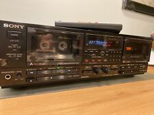 Sony Tc-Wr950 Cassette Deck, Dual Rec/Lc-Ofc Heads/Super Bias/Rms/Ams/Remote