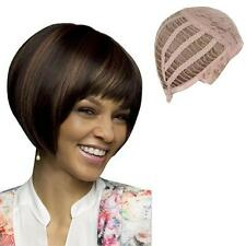 Fashion Women Bob Hair Wig Short Straight Natural Cosplay Party Daily Wigs Brown