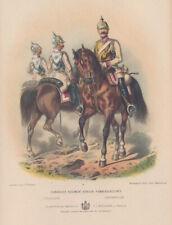 More details for prussian army lithograph by c.f. shindler - pub. h.j. meidinger late 19th c.