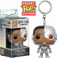 Justice League CYBORG Teen Titans Pocket Pop Keychain Keyring STOCKING FILLER