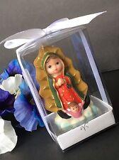 12-Baptism Party Favors Virgen Mary Guadalupe Giveaway Recuerdos De Communion