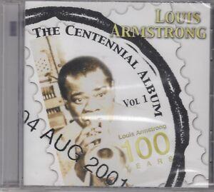 "Louis Armstrong ""The Centennial Album V1"" NEW & SEALED CD - 25 Tracks"