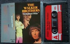 WALKER BROTHERS Greatest Hits EEC Spa Duchesse CASSETTE TAPE WITH PAPER LABELS