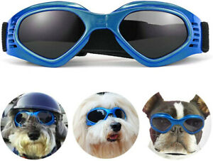 Dog Sunglasses Dog Goggles with Adjustable Strap for Extra Small to Medium Breed