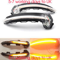 2 LED Flowing Wing Mirror Dynamic Turn Signal Light Indicator for Audi A3 S3 RS3