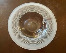 Vintage Rosenthal Studio Line 1979 Art Glass Bowl Signed