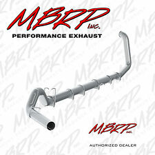 "MBRP S62220PLM 5"" TURBO BACK EXHAUST 1999-2003 FORD F250 F350 7.3L NO MUFFLER"