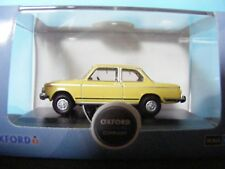 BMW 2002  in Golf Yellow  a 1:76th. Scale Oxford 00 Gauge Collectors Model