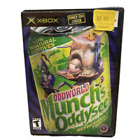 Oddworld: Munch's Oddysee Completed Game With Manual (Original XBOX system)