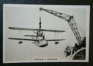 Fleet Air Arm   Supermarine Seagull   Original 1930's Vintage Photo Card