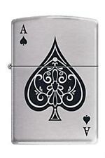 Zippo 8897 Vintage Ace of Spades Lighter