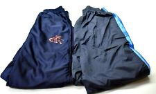 Lot of 2 And1 Basketball Juniors Kid Boys L 14/1/6 Athletic Gym Track Pants Navy
