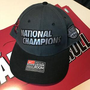 2012 Alabama Crimson Tide BCS National Champions Nike Locker Room Cap Hat NWT