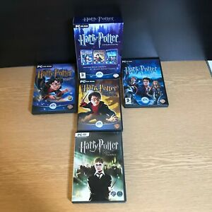 Harry Potter Box set First three Films & The Order Of The Phoenix PC Games