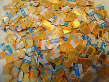 20 X Used At&T Micro Sim Card For Insert Sim, Test & Bypass ,Insert Sim