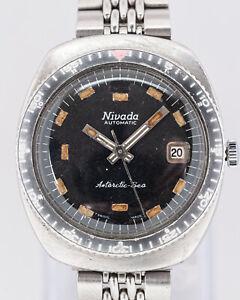 Vintage Nivada Antarctic Sea Automatic Wristwatch 3259
