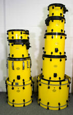 Bill Bruford - Tama Starclassic Maple Drum Kit in Yellow with Black Fittings (1)