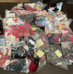 Muffy Vanderbear  Huge Lot 46 Pc Outfits Access Many New Never Used Open Bag