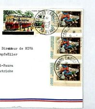 CM18 1988 Angola Cover INFLATION SURCHARGE Missionary Vehicles Air Mail MIVA