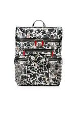 Brand New! $3000 Christian Louboutin Apoloubi Leather Backpack & Wallet Carrare