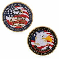 US Army Navy Air Force Marine Corps Coast Guard Commemorative Coin Collection