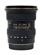 Tokina AT-X Pro 12-24mm 1:4 SD (IF) DX Aspherical (Canon)