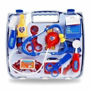 BLUE DOCTOR SET Nurse set Medical play kit Children toy set UK SELLER