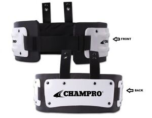 Champro Football Adult LARGE Adjustable Rib / Back Combo Protector with Hardware