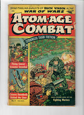 ATOM-AGE COMBAT #2 - Grade 5.0 - Golden Age Marines War Comic.