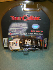 Ryan Newman #12 MOBIL1 2005 Dodge Charger Team Caliber Pit Stop 1/64 NEW