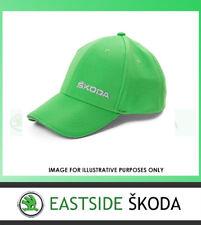 NEW GENUINE SKODA BASEBALL CAP BRIGHT GREEN 000084300AJ