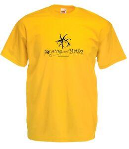 T-shirt Maglietta QLM_02 Quattro col Matto Manicomio Musicale Itinerante Band