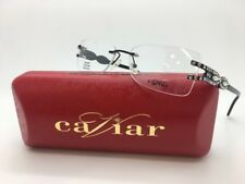 a963d892d6da CAVIAR M2345 C24 EYE GLASSES GENUINE AUSTRIAN CRYSTAL FRAMES 54-15-135 NEW!
