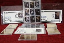 1998 STAR WARS ORIGINAL TRILOGY STAMPS SET + FIRST DAY OF ISSUE - LOT OF 7