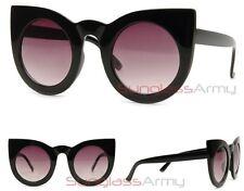 Black Wolves OverSized Cat Eye Sunglasses womens pin up girls rockabilly valley