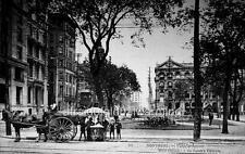 """Photo 1909 Montreal, Canada """"View - Victoria Square"""""""
