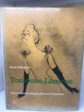TOULOUSE-LAUTREC complete lithographs and drypoints Jean Adhemar HB DJ