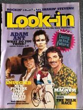 LOOK IN COMIC 22 23/05/81 ADAM ANT ELVIS MAGNUM BUCK ROGERS CHARLIES ANGELS