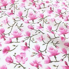 MOMO Japanese floral 100 % cotton dressmaking Fabric 112cm Wide PER 1/2 metre/FQ
